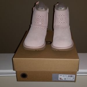 UGG KIDS DAE SUNSHINE PERFORATED IN PINK